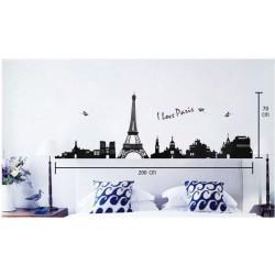 Muurstickers. Parijs 3 Groot