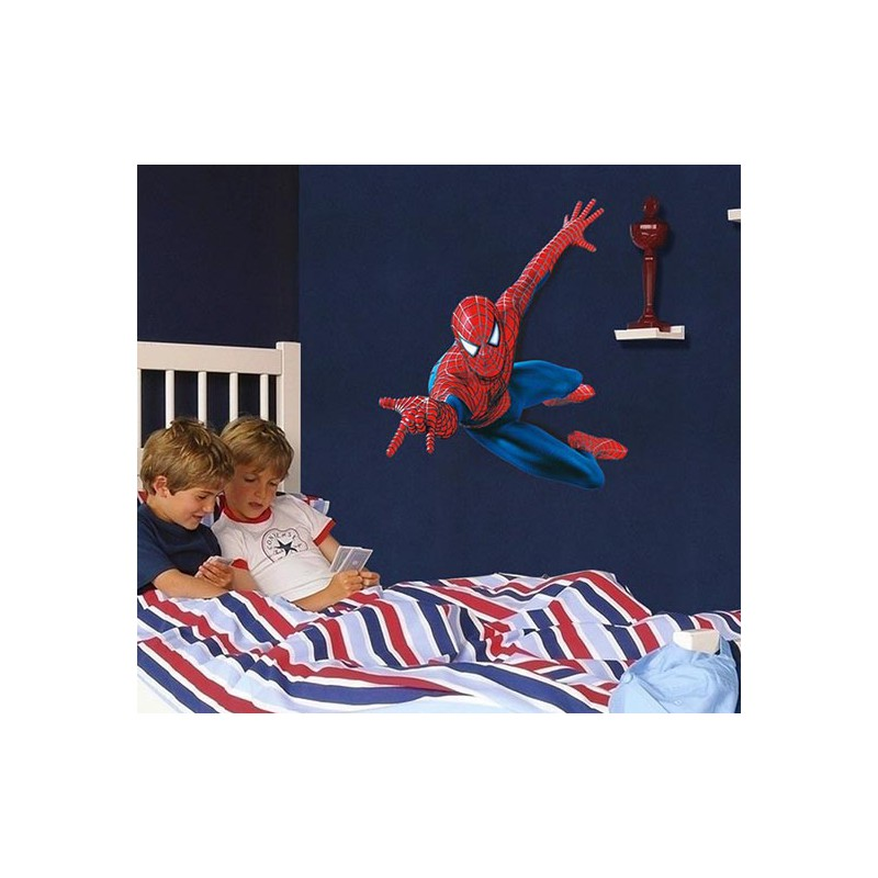 Mario Bros Muurstickers.Muurstickers Spiderman 1