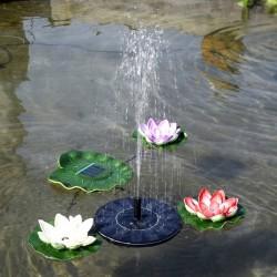 Drijvende fontein op...