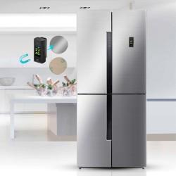 Plaats de bodycam met de magnetische clip op een koelkast of verwarming