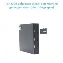 Bewakingscamera met 32GB geheugen en bewegingsdetectie