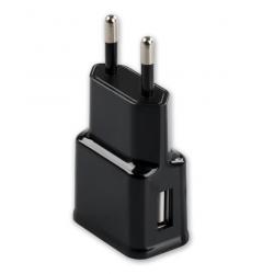 EU USB Oplader Zwart 5V 2A