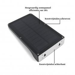 Buitenlamp op zonne-energie