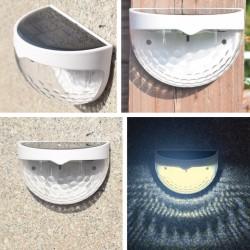 Buitenlampje op zonne-energie.