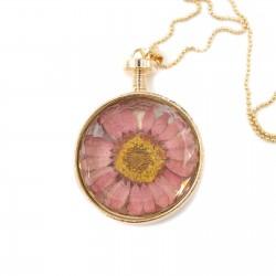 Ketting bloem (roze)