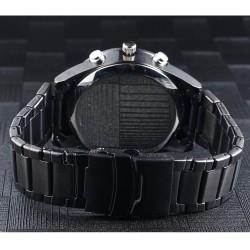 Metalen polsband van het verborgen camera horloge.