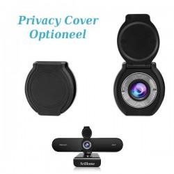 Webcam met privacy cover